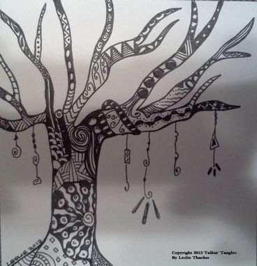 Custom Made Tangled Tree3