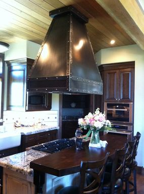 Custom Made Island Range Hood