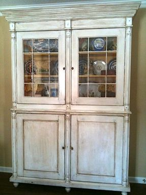 Custom Made Quot Antique Quot French China Cabinet By Hand Crafted