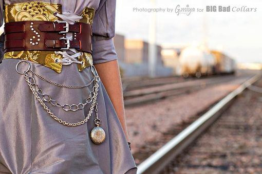 Custom Made Steampunk, Belts, Dog Collar, Fashion