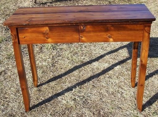 Custom Made Hall Console Table And Writing Desk