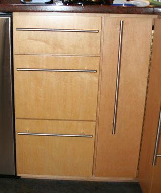 Custom Made Kitchen Cabinet Refinishing
