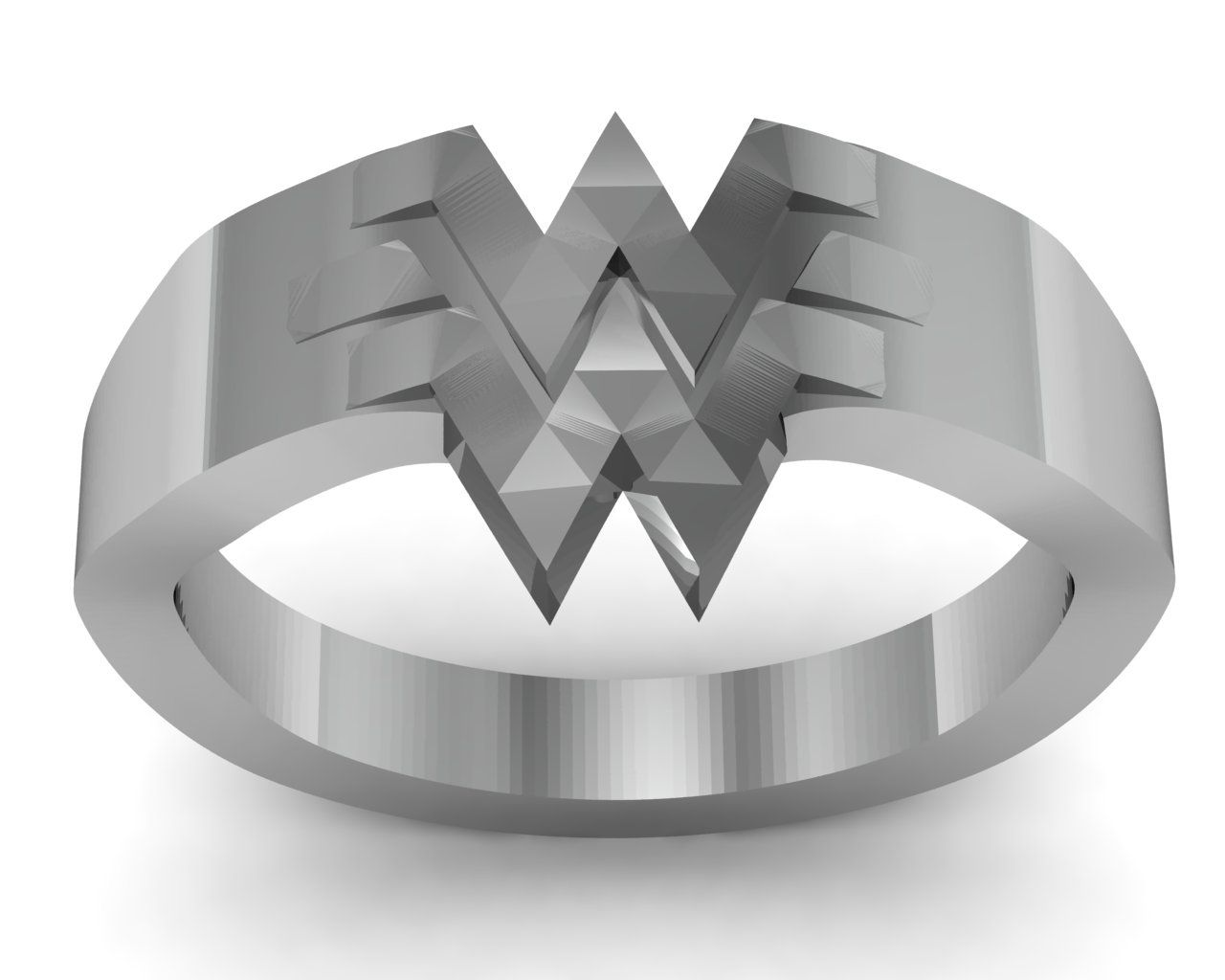 Buy a handmade wonder woman ring in sterling silver made to order buy a handmade wonder woman ring in sterling silver made to order from fine geek jewelry custommade biocorpaavc Images