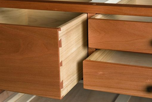 Custom Made Small Dresser In Cherry