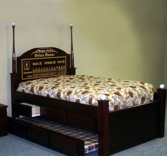 Custom Made Special Edition Baseball Bed