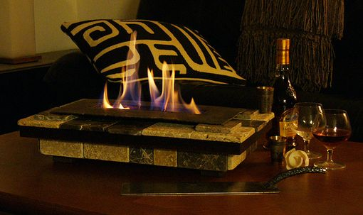 Custom Made Table-Top Hearth (Fireplace)