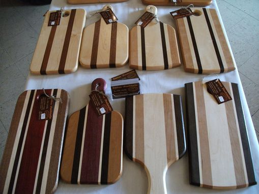 Custom Made Paddle And Cheese Boards