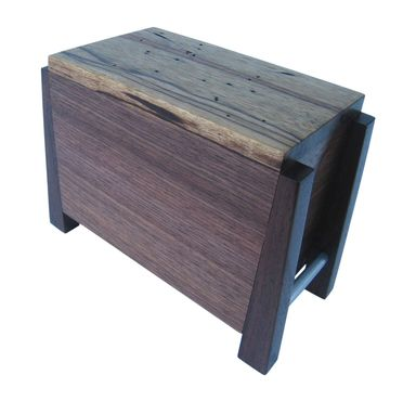 Custom Made Modern Cremation Urn Handmade Hardwoods - By Studio 1212 Furniture