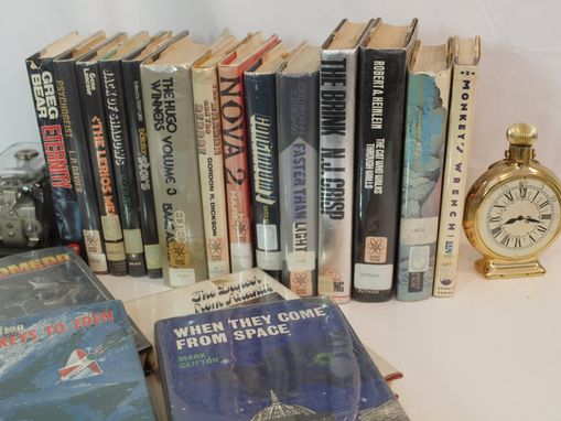Custom Made Vintage Instant Science Fiction Library Book Collection 18 Books