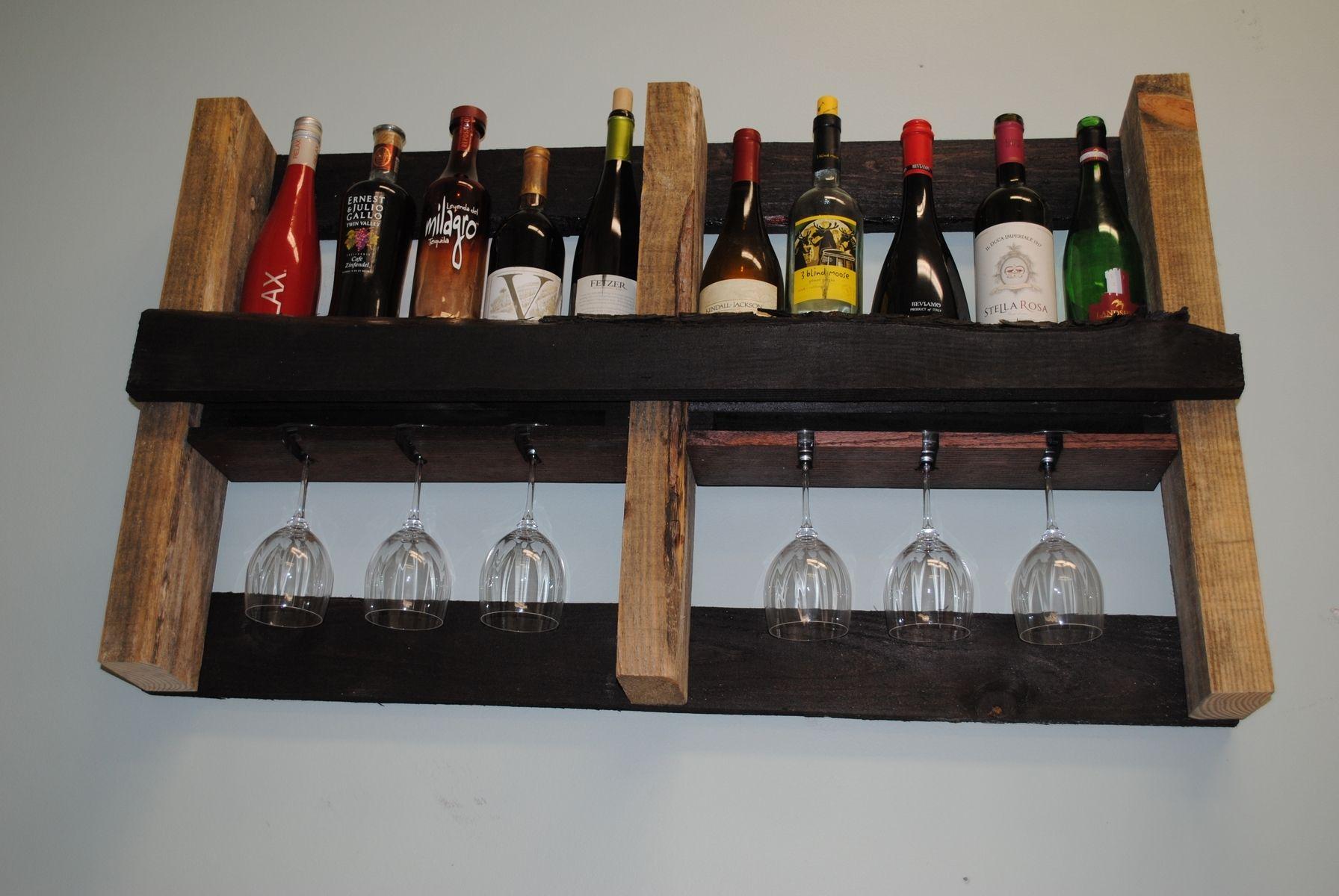 Custom Pallet Wine Rack By Shigamasham Customs