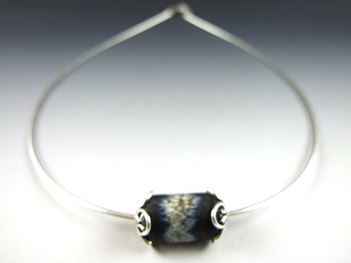 Custom Made Charm Pendant - Obsidian Collection
