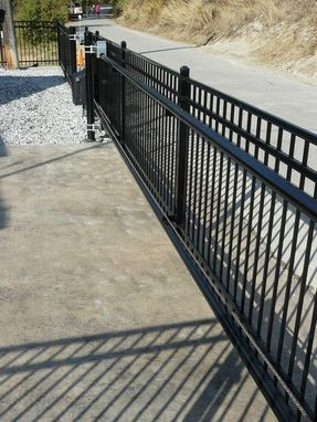 Custom Made Custom Cantilever Gate