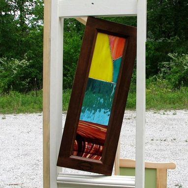 Custom Made Stained Glass Accent Divider
