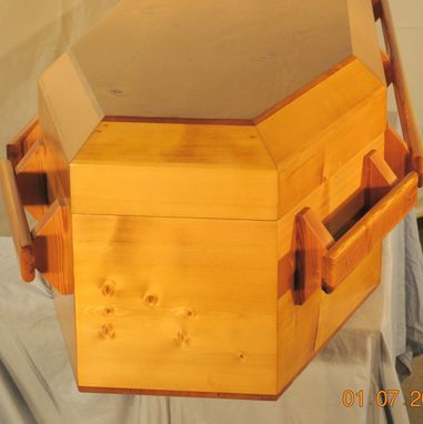 Custom Made Casket - Old Style Pine Coffin