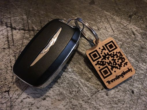 Custom Made Pokémon Go Trainer Qr Code Keychain