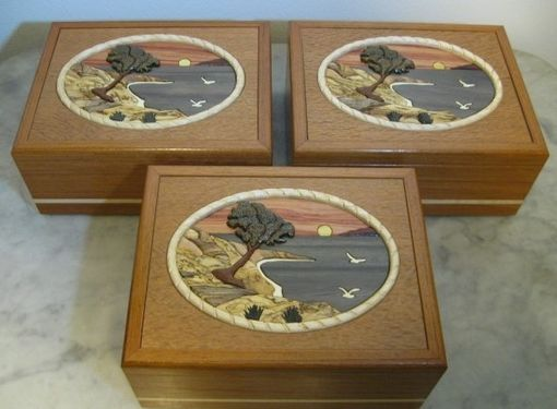 Custom Made Custom Keepsake Boxes