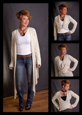 Custom Made Bamboo Rayon Infinity Sweater