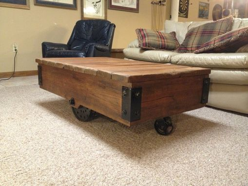 Custom Made Factory Cart Table