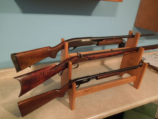 Custom Made 3- Gun Rack Display