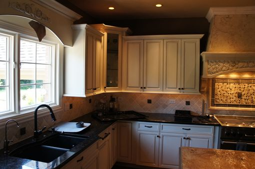 Custom Made Beautiful Re-Finished Kitchen Cabinets