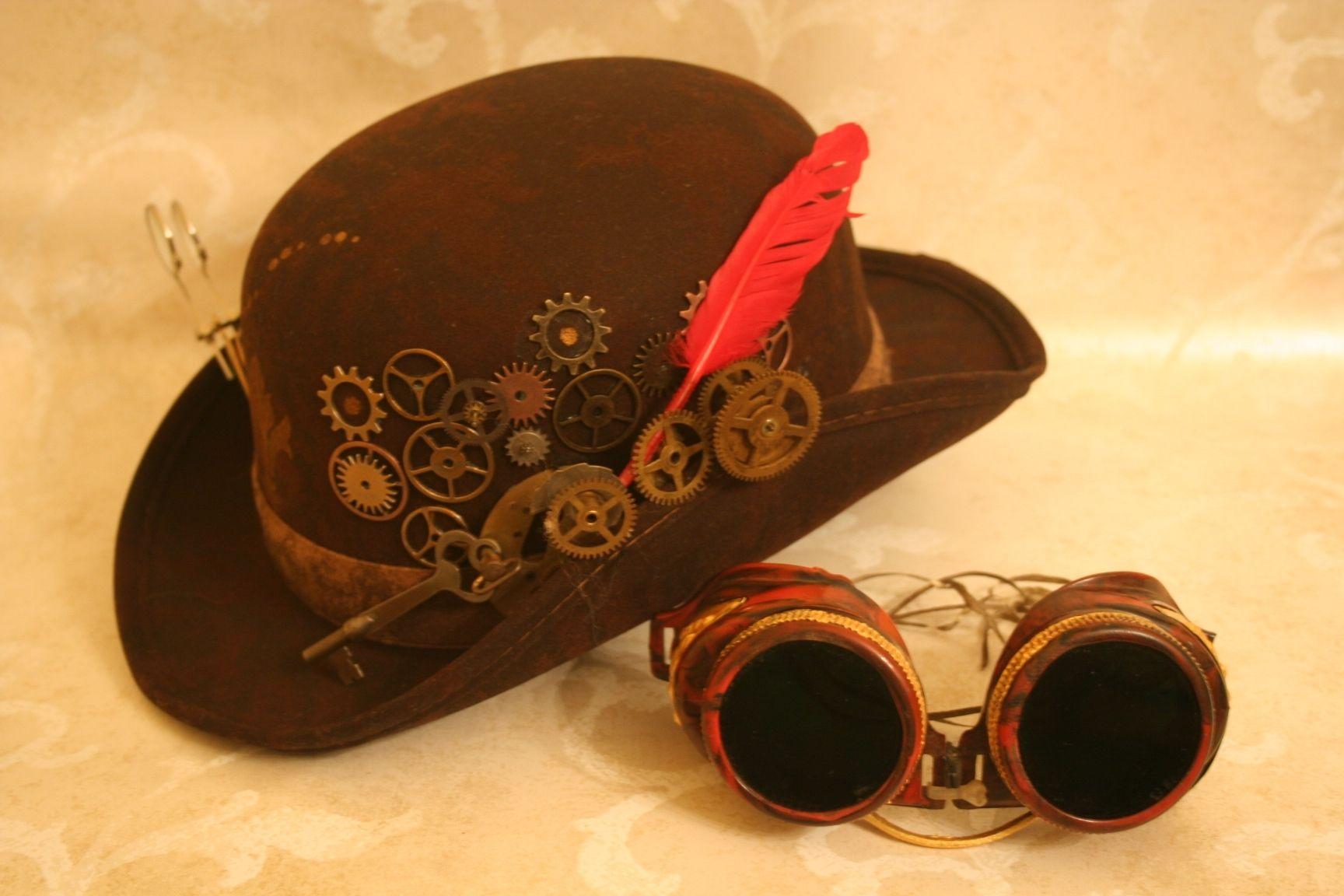 Custom Clockwork Steampunk Hat By Ferruzca Studios