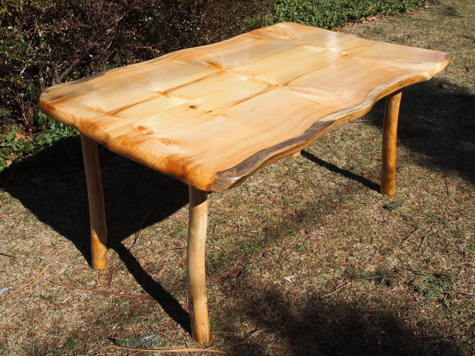 Handmade kitchen table by giles wood and clay custommade custom made kitchen table workwithnaturefo