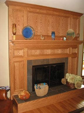 Custom Made Custom Mantel And Fire Place Surround