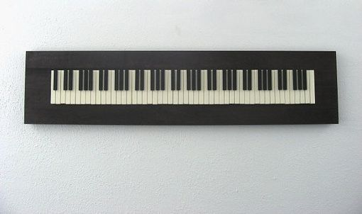 Custom Made Wall Art Piano Keyboard