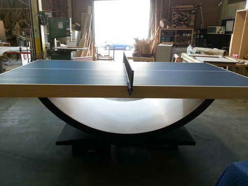 Buy A Hand Crafted Modern Bamboo Ping Pong Table Made To Order From Ironwood