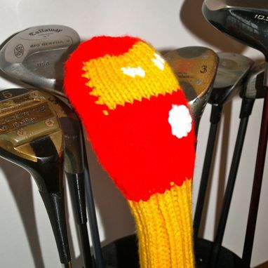 Custom Made Iron Man Golf Club Cover