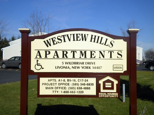 Custom Made Apartment Signage