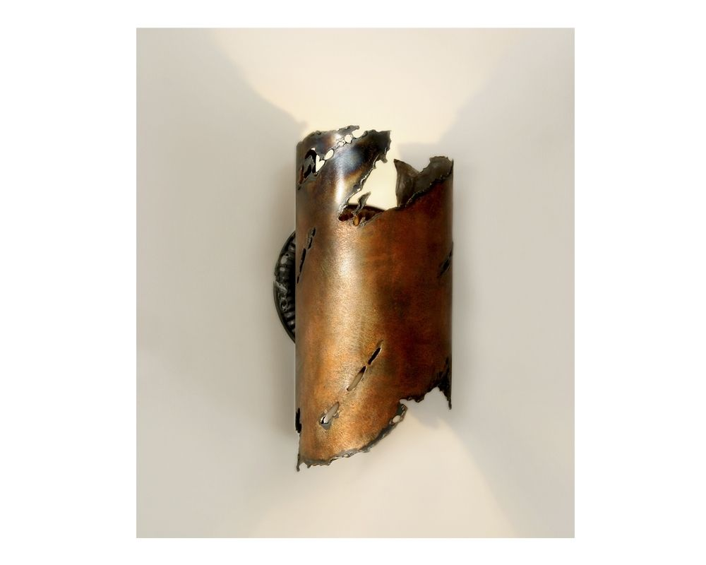 New Hand Made Earthen ] Sc_1510to_Cplr Wall Light Sconce, Sculpture  MY41