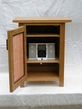 Custom Made Ipod Cabinet