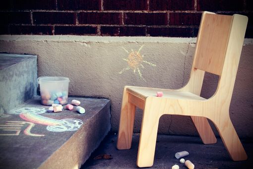 Custom Made Kids Chair