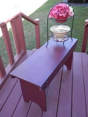 Custom Made Rustic Style Bench