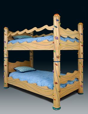 Custom Made Something's Fishy Bunk Beds
