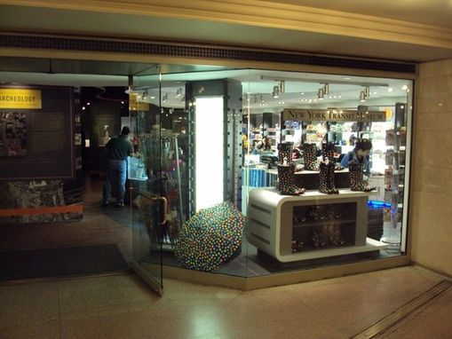 Custom Made Mta Gift Shop And Museum, Grand Central Terminal, Custom Display Case Fabrication And Installation