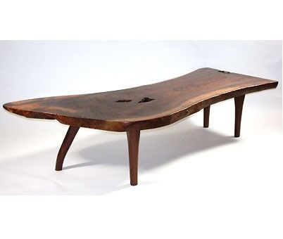 Custom Made Modern Live Edge Coffee Table