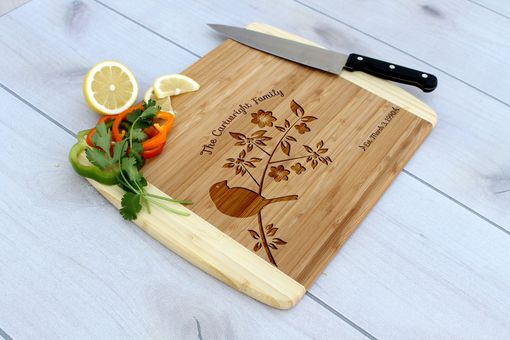 Custom Made Personalized Cutting Board, Engraved Cutting Board, Custom Wedding Gift – Cb-Bam-Cartwright Family