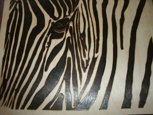 Custom Made Wood Burned Animal Art