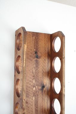 Buy A Hand Crafted Wall Mounted Wine Rack Vertical Wine