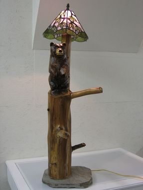 Custom Made Bear Floor Lamp