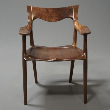 Custom Made Classic Low-Back Chair