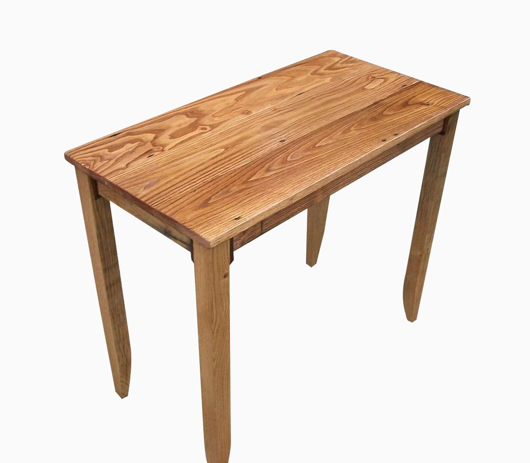 Buy A Custom Made Barnwood Furniture Reclaimed Chestnut Writing Desk Made To Order From The