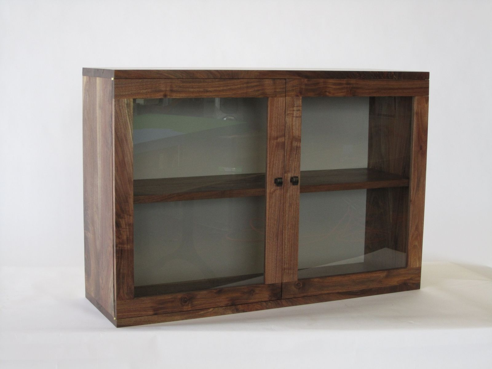 Custom Made Wall Hanging Book Cabinet