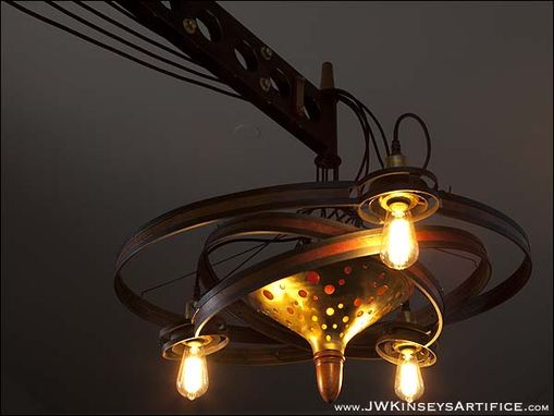 Custom Made The Amperial Orrery: A Custom Chandelier