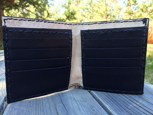 Custom Made Leather Wildlife Wallets