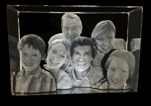 Custom Made Crystallized 3d Portrait Crystal