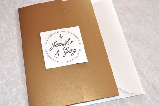 Custom Made Country Flair Wedding Invitation Suite