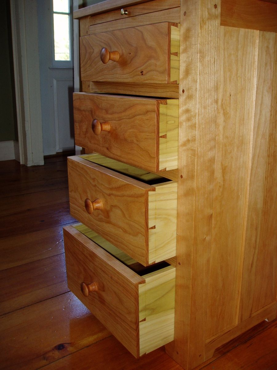 Hand Made Shaker Chest Of Drawers By Watershed Fine